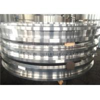Buy cheap Hot Rolled ASTM JIS BS EN DIN Steel Forging Rings  Heat Treatment And Machined product