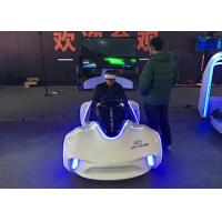 White / Blue Cool Virtual Reality Driving Simulator With DEEPOON E3 VR Glass