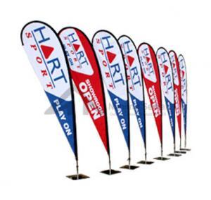 Buy cheap Tear Drop Flag Banner product