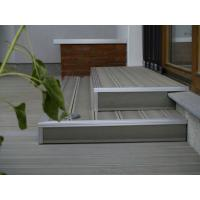 Mothproof Composite Decking Material , Eco - Friendly Wood Plastic Composite Board