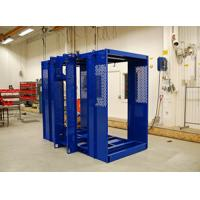 Buy cheap Blue Durable Building Material Hoist / Construction Site Elevator High Reliability product