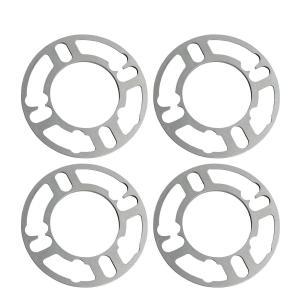 China High Performance 5 Lug Rim Universal Wheel Spacers 78 Mm Diameter Cast Aluminum on sale