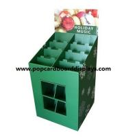 China  Christmas Promotional Colorful Pop Cardboard Pallet Display with strong structure  for sale