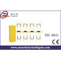 China 4.5mm Automatic Car Park boom Vehicle Barrier Gate with three fence on sale