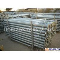 Buy cheap Heavy Duty Scaffolding Steel Prop , 30KN Adjustable Support Prop EN1065 Standard product