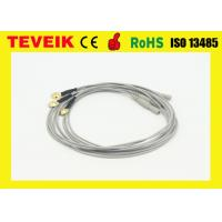 Buy cheap Medical electrode eeg cable Din 1.5 eeg hat cable with nickel plated copper product