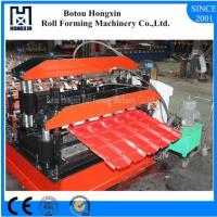 Buy cheap Step Tile Double Layer Roll Forming Machine High Efficient Hydraulic Pump product