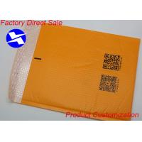 Buy cheap Orange Poly Poly Mailer Shipping Bags Customized Size  Copperplate / Offset Printing product