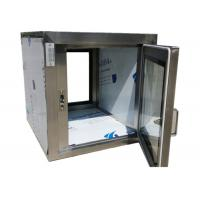 Buy cheap Pharmaceutical Clean Room Pass Box Through 110V / 60HZ , Softwall Cleanrooms product