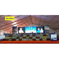 Buy cheap 40 x 100m Huge Trade Show Event Tents With Wood Floor For Export Trade Exhibition product