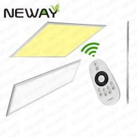 Buy cheap Germany 620x620 40W Dimmable Remote LED Panel Light Color Change product