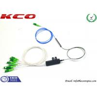 Buy cheap PLC Optical Splitter 1x8 Fanout product