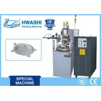 Buy cheap Aluminum Plate Automatic Welding Machine , Capacitor Spot Welder 800mm Diameter product