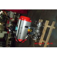 Buy cheap Automatic Water Shut Off Valve , Pneumatic Piston Metal Seated Stainless Ball Valve product
