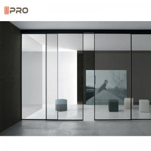 Buy cheap Aluminum Sliding Glass Pocket Doors Interior Noiseless System product