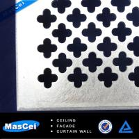 Buy cheap Sound Insulation Curtain Wall and PerforatedMetalWallCladdingPanels product