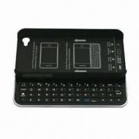 Buy cheap Bluetooth Sliding Keyboard + Hard Shell for iPhone 4 and 4S, with FCC, CE and RoHS Marks product