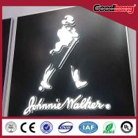 Buy cheap Acrylic thin vacuum hotsale light high quality custom vivid alphabet letter product