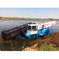Buy cheap L4.5m 2500CBM Water Weed Harvester Aquatic Weed Harvesting Machine product
