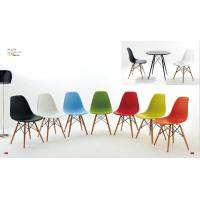 Eames DSW chair/plastic dining chair with wood leg/office leisure chair