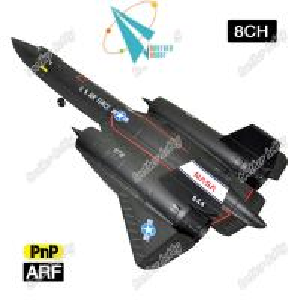 Quality SR-71 Black bird large EPS foam 8CH Electric RC model airplane EDF jet for sale