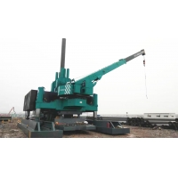 Buy cheap No Pollution Vibratory Pile Driving Hydraulic Piling Machine product