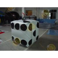Buy cheap White Fireproof Cube Helium Filled Balloons For Outdoor Advertisement product