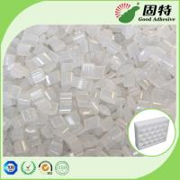 Buy cheap EPE Positioning Glue Yellowish Hot Melt Adhesive Pellets For Box Sealing product