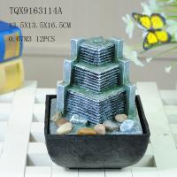 Buy cheap Small Artificial Hill Polyresin Water Fountain For Indoor Desk Decoration product