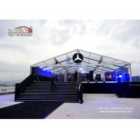 Buy cheap 5000 sqm Glass Wall Aluminum Frame Second Hand Marquee Canopy Tent  Waterproof PVC product
