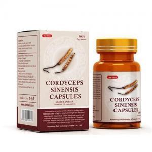 Cordyceps Sinensis Capsules--Cordyceps Sinensis Extract --Increase Immune Function 086