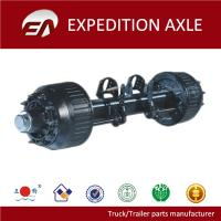 Buy cheap 14T Germany type outboard drum BPW tralier axle product