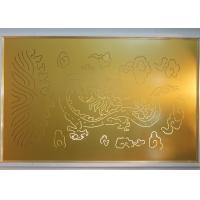 China Laser Carving decorative metal wall panels with Culture Element Custom Made Pattern wholesale
