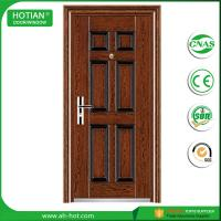 Buy cheap Entry security fire proof steel doors used wrought iron gate door prices product