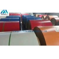 Buy cheap Color Coated Steel Coil UV Resistant Pre Painted Coils Anti Impact product