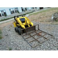 Buy cheap Shoveling Coal Mines Mini Skid Steer Loader With Leveler Attachment product