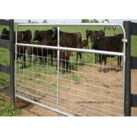 Buy cheap Fully Welded Hot Dipped Gal. Farm Steel Gates , Liivestock Fence Panels product