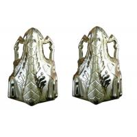 Buy cheap Plastic Customized Funeral Golden Decoration  Coffin Parts For casket product