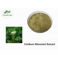 Buy cheap Natural P.E. Cnidium Monnieri Extract Osthole 10% Powder for Pesticide product