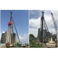 Buy cheap Fast Blow Rate Power Saving Vibratory Hammer Pile Driver product