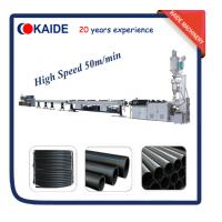 China Plastic Pipe Production Line for HDPE pipe High Speed KAIDE factory on sale