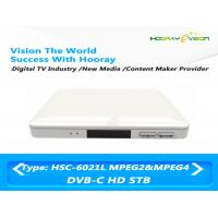 HSC-6021L DVB C HD H.264/MPEG-4/MPEG-2 set-top box USB 2,0 PVR CAS sin carta
