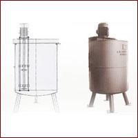 Quality SUS304 Jacketed Stainless Steel Fruit Processing Tank, Stainless Steel Agitator for sale