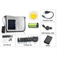 China solar powered backpack bags solar backpack bag on sale