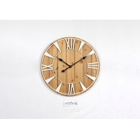 Quality Round Numerals Irregular Knot Metal Frame Wall Clock for sale