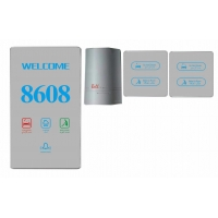 Buy cheap Hotel Room Number Sign Hotel Door Number Electronic Door Number For Hotels from wholesalers