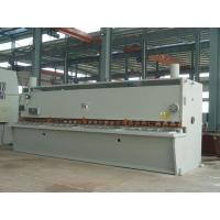 Buy cheap 12 x 2500 mm CNC Hydraulic Plate Shearing Machine With CNC Control System product