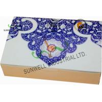 Quality Both Sides Printing Cardboard Food Packaging Boxes , Mooncake Display Packaging Box for sale