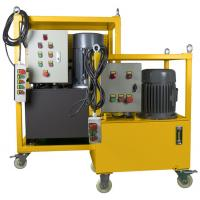 Buy cheap Hydraulic Driven Pipe Cutting And Beveling Machine Auto Feed Steel Body On Site product