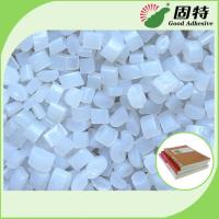 Buy cheap Environmental Book Binding Adhesive Glue , Hot Melt Glue Pellets In White product